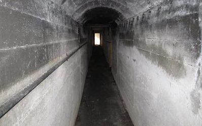 Туннель форта.