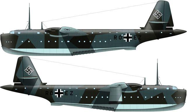 Tilley Pierre-André. Дальний гидросамолет Blohm und Voss BV 238 V-1.