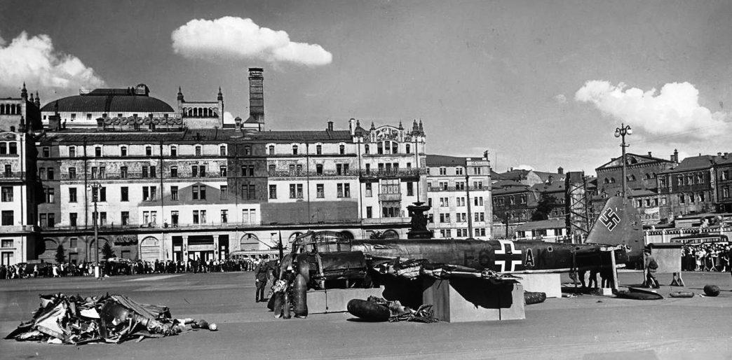 Гостиницу «Метрополь» превратили в несколько отдельных фабричных зданий.