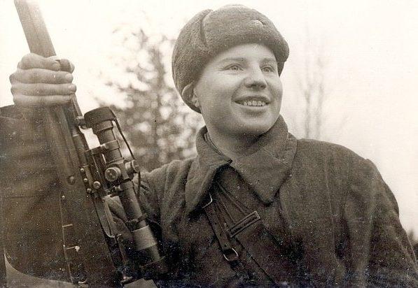 Данилов Виктор Ильич одержал 263 победы. Карельский фронт. 1943 г.