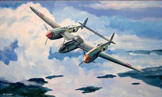 Guyot Michel. Разведчик Lockheed F-5B.