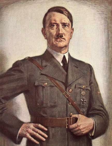 Kursell Otto. Адольф Гитлер.