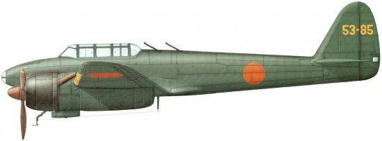 Dekker Thierry. Истребитель Nakajima J1N1-Sa.
