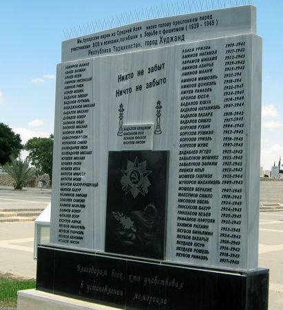 г. Беэр-Шева. Памятник борцам против фашизма, установленный на городском кладбище.