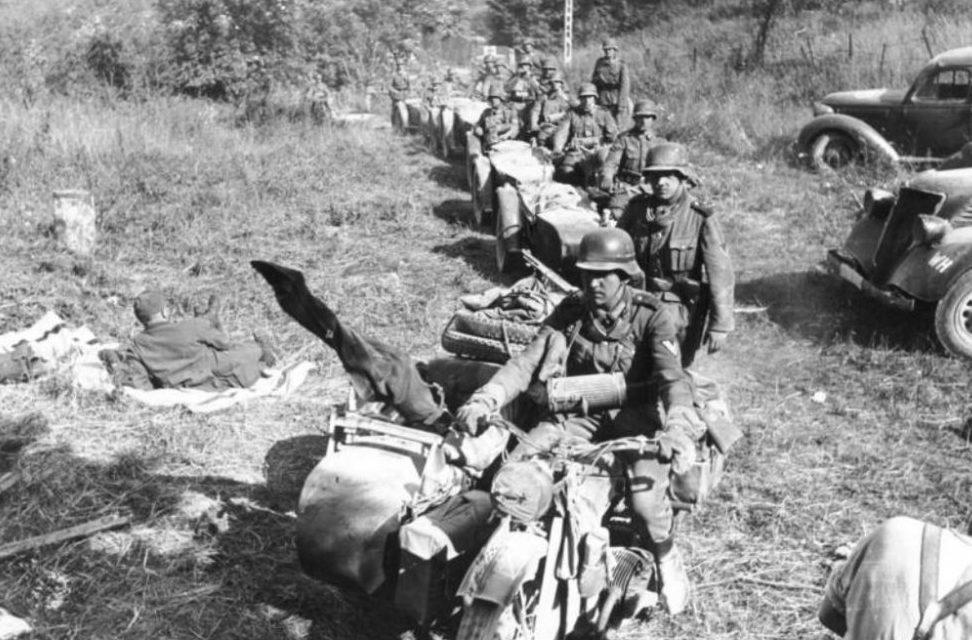 Карпаты. 1944 г.