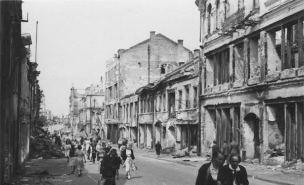 Улица Ленинская. Лето, 1941 г.