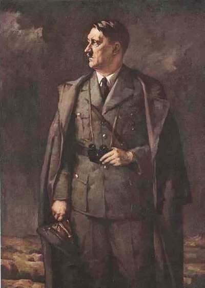 Schachinger Hans. Адольф Гитлер.