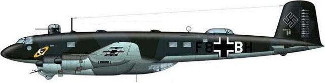 Tilley Pierre-André. Дальний морской разведчик Fw 200C-3/U1 «Condor».