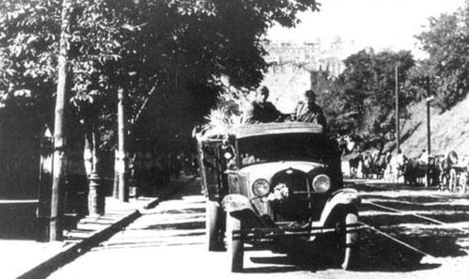 Немцы на Липках. 20 сентября 1941 г.