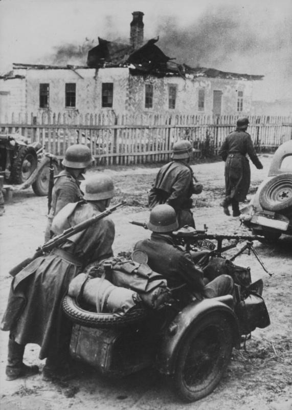 Возле Киева. 1941 г.