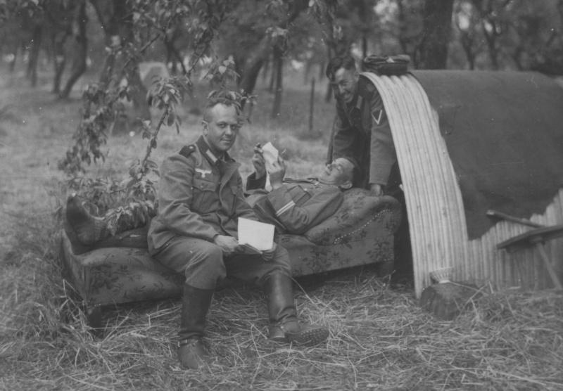 «Курортники» во Франции. 1940 г.