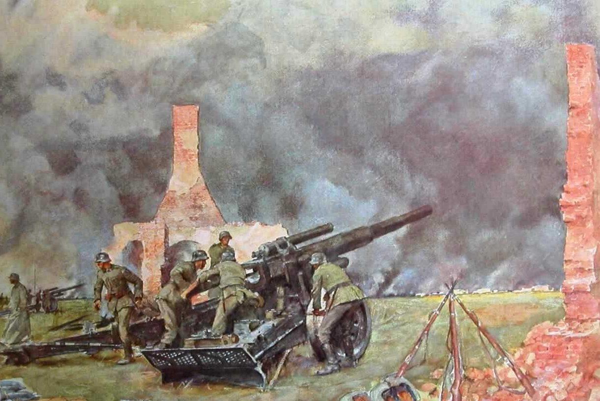 Eichhors Franz. Огонь по Варшаве.