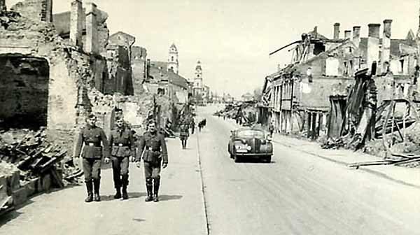 Улица Ленина. Лето, 1941 г.