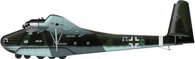 Tilley Pierre-André. Тяжелый военно-транспортный самолет Me-323E-2.