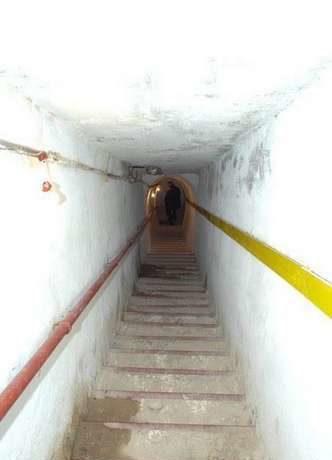 Туннель крепости.