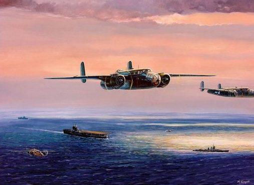Guyot Michel. Корабельная авиация.