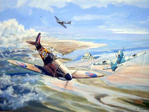 Guyot Michel. Истребители Supermarine Spitfire.