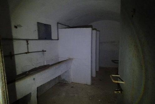 Санузел форта.
