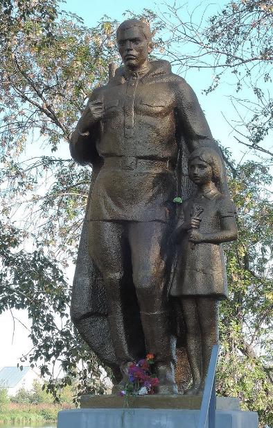 Памятник мемориала.