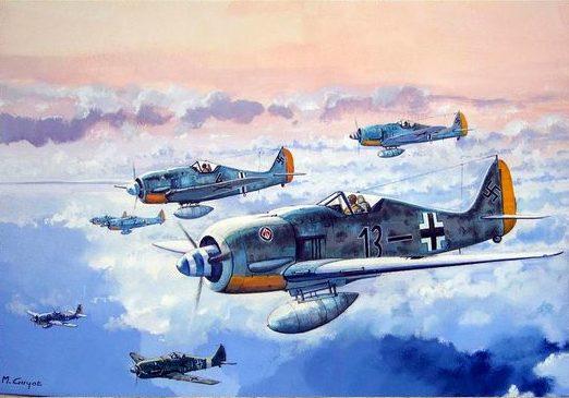 Guyot Michel. Истребители FW-190.