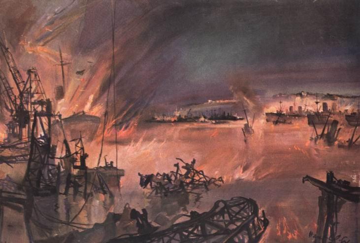 Liska Hans. Дюнкерк. 1940 г.