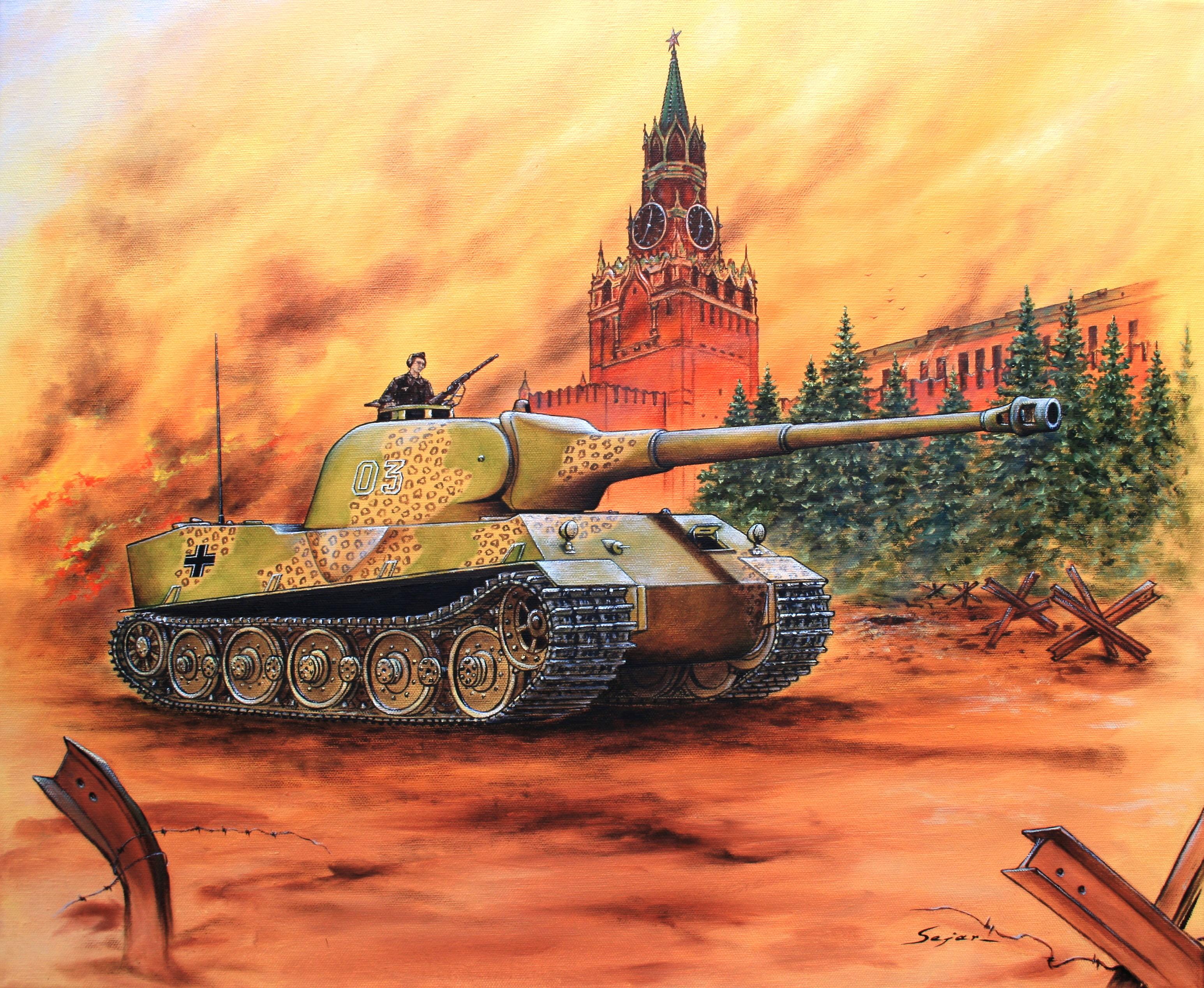 Бекиров Сеяр. Танк Panzerkampfwagen VII «Löwe».