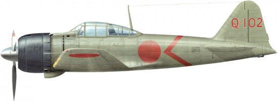 Dekker Thierry. Истребитель Mitsubishi A-6M-3.