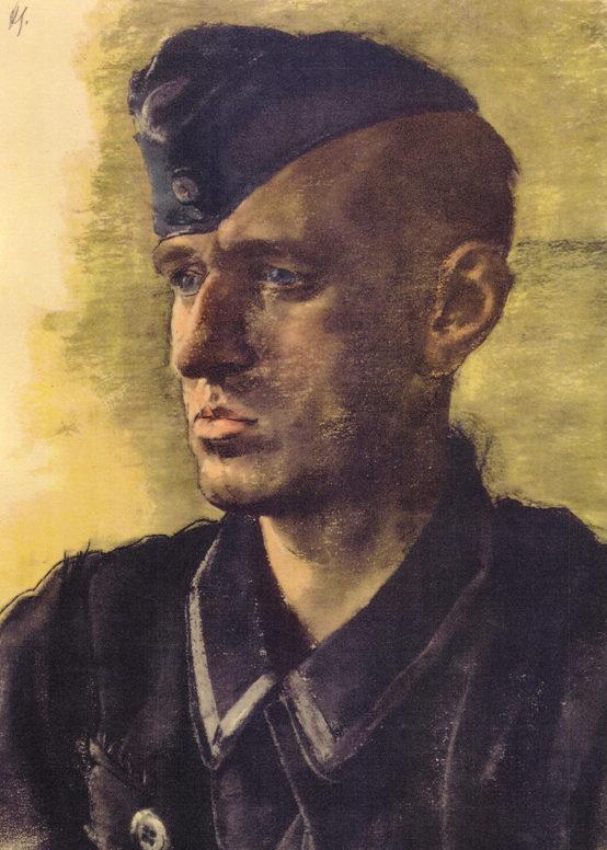 Schmitz Hans. Унтер-офицер люфтваффе.