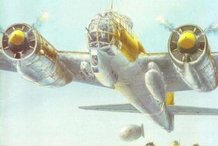 Labeyrie Lionel. Бомбардировщик Ju-88 D.