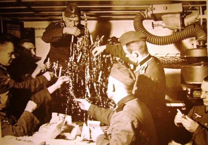 Новый год в бункере. 1940 г.