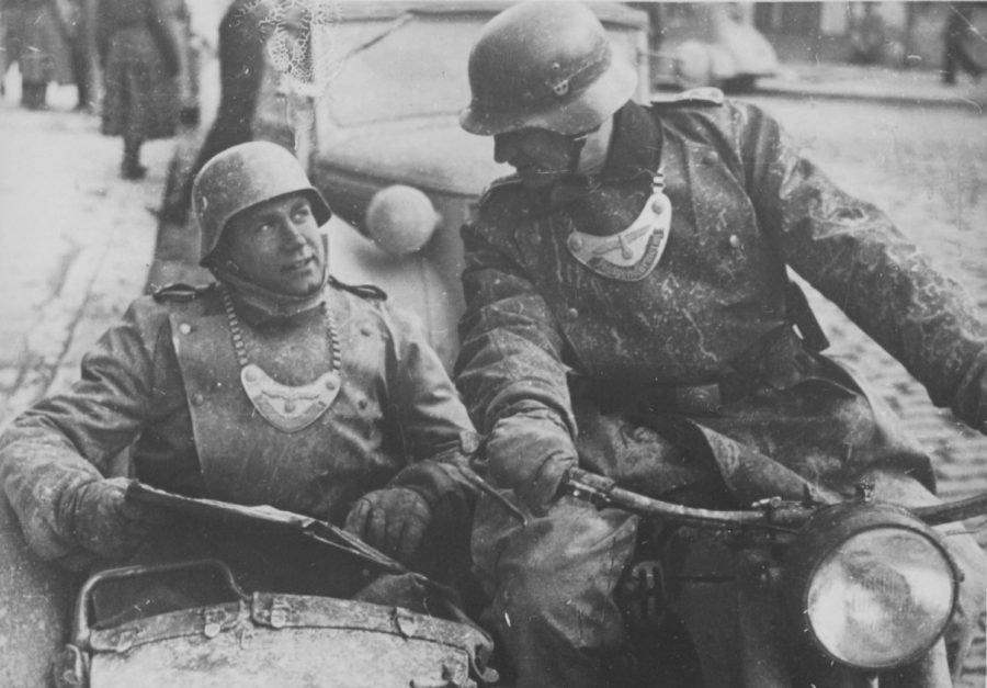 Полевая жандармерия. Югославия. 1944 г.