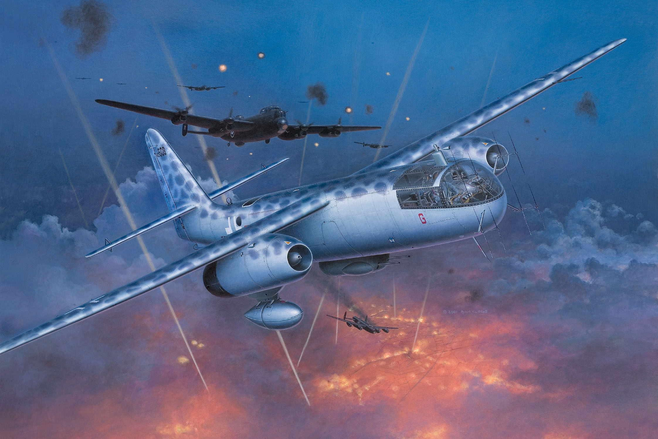 Friedl Egbert. Бомбардировщик Ar-234 Nachtigall.