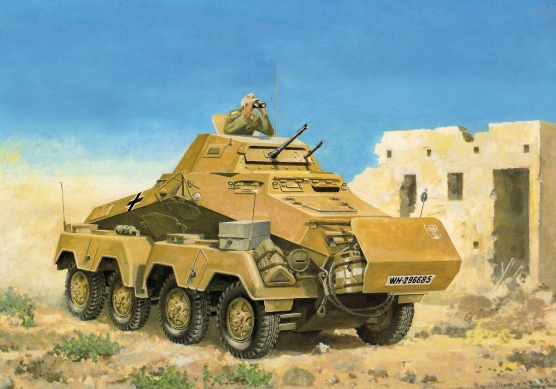 Horst Helmus. Африканский корпус.
