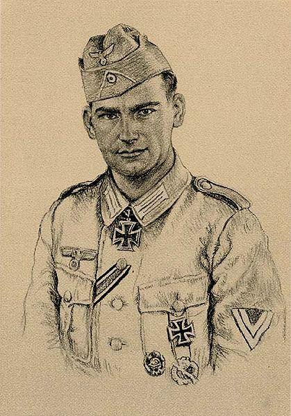 Oskar Graf. Портрет Gustav Bergmann.