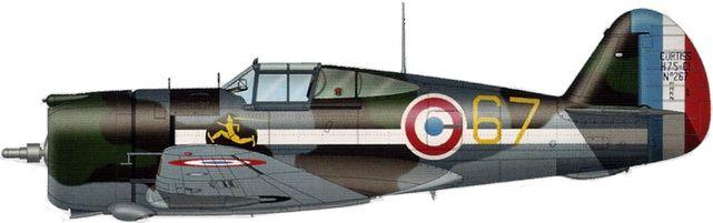 Tilley Pierre-André. Истребитель Curtiss H-75 A-3.
