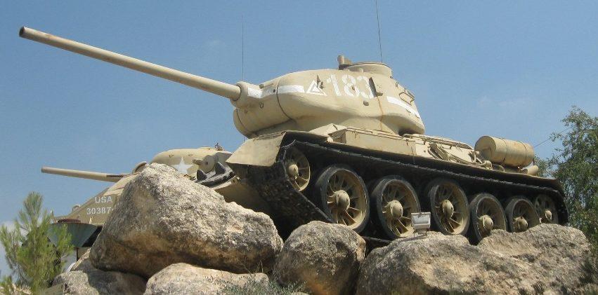 Советский танк Т-34.