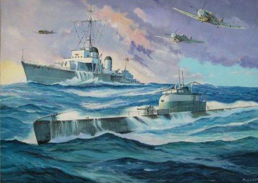 Guyot Michel. Подводная лодка «La Favorite».