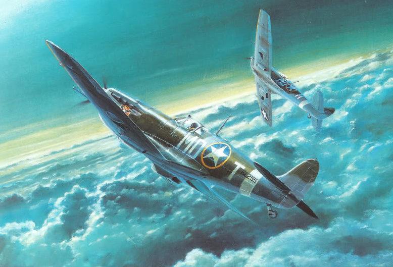Howard Gerrard. Истребители «Spitfires».