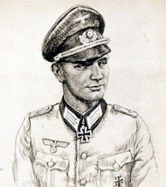Oskar Graf. Портрет Alfred Germer.