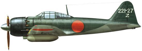 Dekker Thierry. Истребитель Mitsubishi A6M-5a.