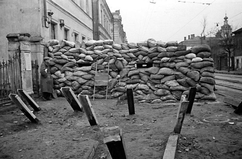 Новокузнецкая улица. Осень, 1941 г.