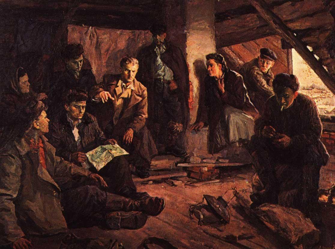 Варшавский А. В канун восстания. Молодая гвардия.