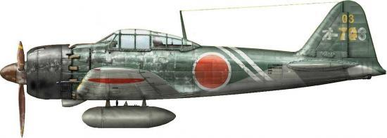 Dekker Thierry. Истребитель Mitsubishi A6M-5с.