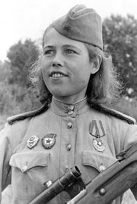 Мотина Евдокия Григорьевна одержала 56 побед.