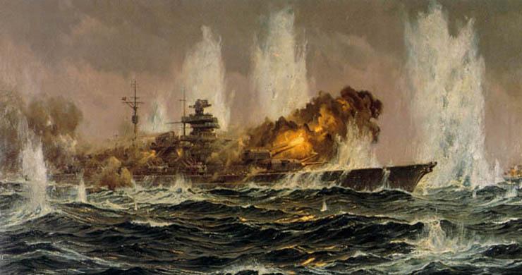 Bergen Claus Friedrich. Линкор «Bismarck».