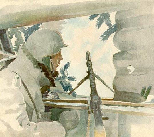 Brauner Fritz. Пулеметчики.