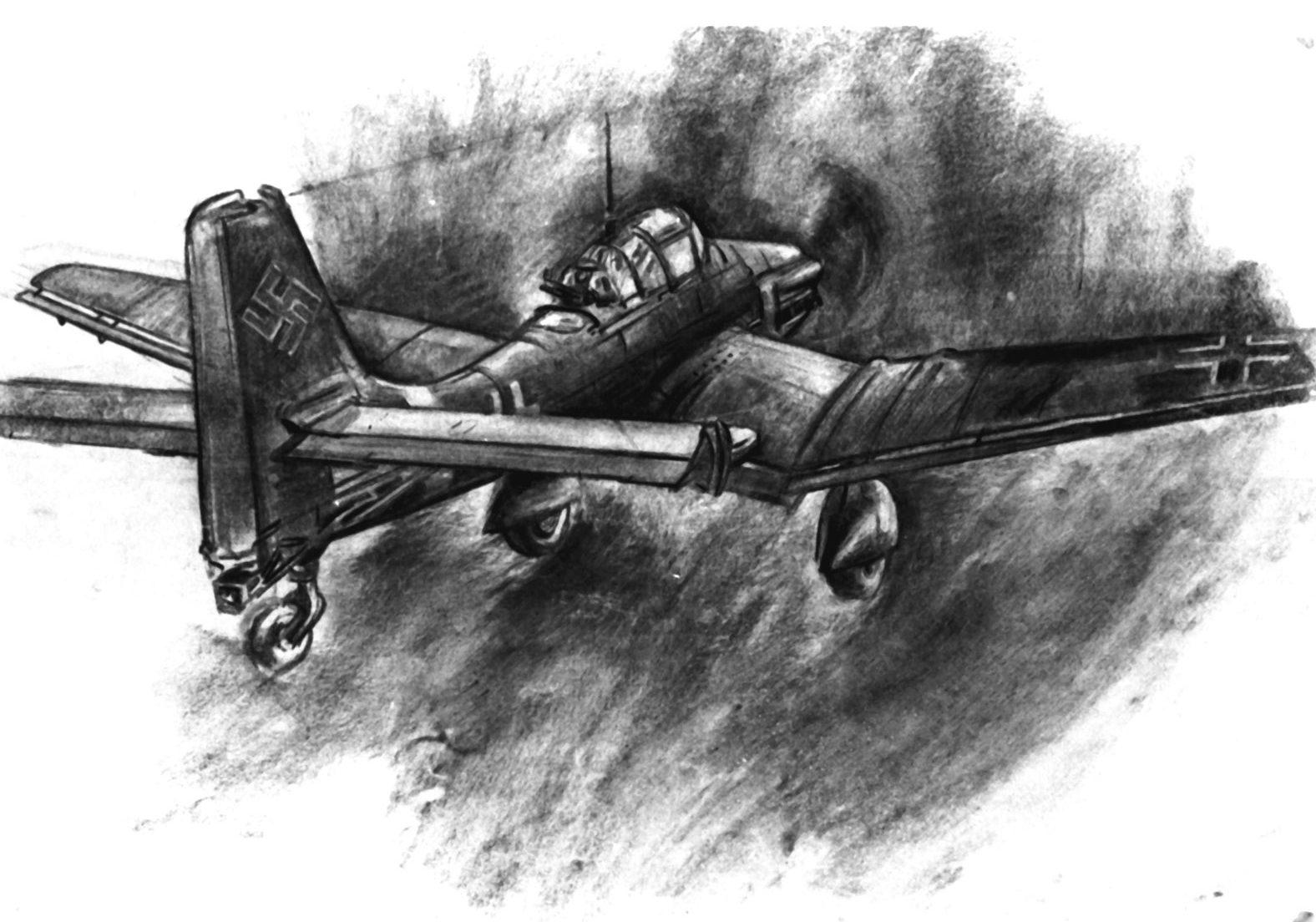 Junghans Fritz. Бомбардировщик Junkers 87.