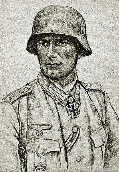 Oskar Graf. Портрет Karl Langesee.