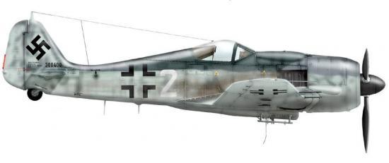 Dekker Thierry. Истребитель Fw-190 A-8.