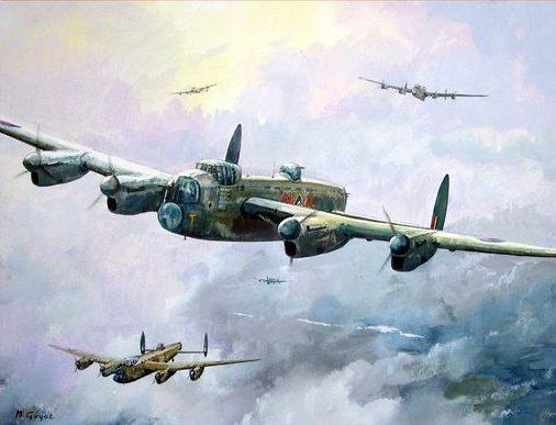 Guyot Michel. Бомбардировщики Avro Lancaster.